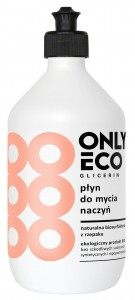 PŁYN DO MYCIA NACZYŃ 500 ml - ONLY ECO