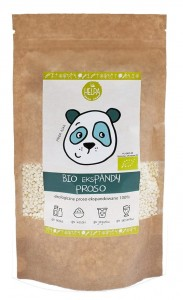 BIO EKSPANDY PROSO EKSPANDOWANE BIO 80 g - HELPA