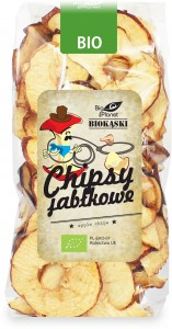 CHIPSY JABŁKOWE BIO 100 g - BIO PLANET